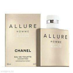 Chanel  -Allure Homme Edition Blanche