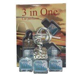 Car perfume 3 in One Cerruti 1881 Fraicheur Deau