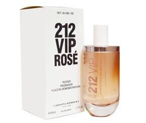 Тестер Carolina Herrera 212 VIP Rose EDP 80 ml.