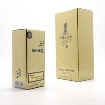 SHAIK M 91 (PACO RABANNE 1 MILLION FOR MEN) 50ml