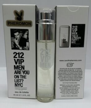 C.H Carolina Herrera 212 VIP for men 45ml