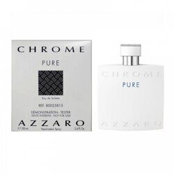 (тестер)Chrome azzaro pure 100ml