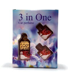 Car perfume 3 in One CACHAREL AMOR AMOR