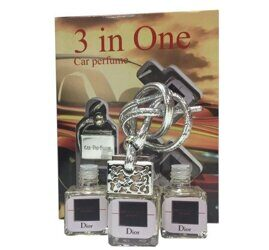 Car perfume 3 in One Christian Dior Homme Sport