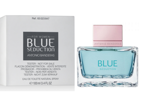 ANTONIO BANDERAS Blue Seduction For Women (Тестер Антонио Бандерас) - 100 мл.