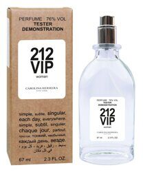 Пробник - тестер Carolina Herrera 212 VIP Women for woman 67 ml.