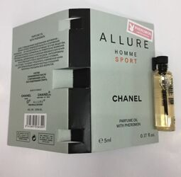 CHANEL ALLURE HOMME SPORT PARFUM OIL WITH PHEROMON 5 ml