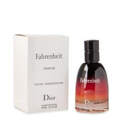 Тестер CHRISTIAN DIOR FAHRENHEIT LE PARFUM for man 75 ml.
