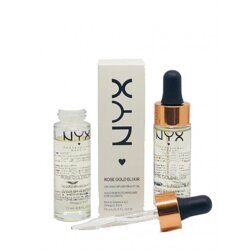 NYX Rose Gold Elixir 24k Gold Infused Beauty Oil 15 ml.