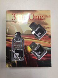 Car perfume 3 in One BLACK AFGANO
